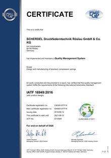 IATF 16949 (Röslau)