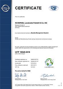 IATF 16949 (Leutendorf)