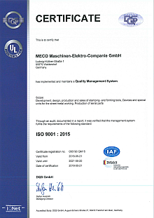 ISO 9001 (MECO)