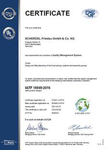 IATF 16949 (Friedau)