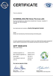 ISO 16949 (Moltec)